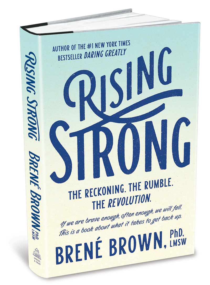 Rising Strong by Brené Brown | Locus Therapy Center